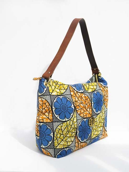 Multi-Colored Floral Ankara Oversized Tote3