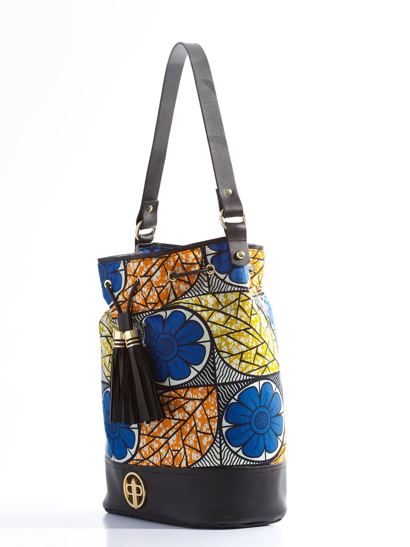 Floral Bucket Bag Floral Ankara Bucket Bag