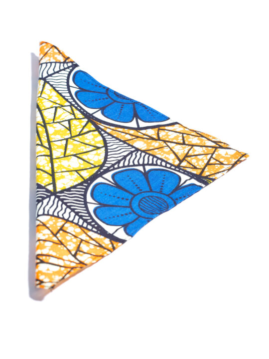 PrincePearl Multi colored leafs Ankara Print