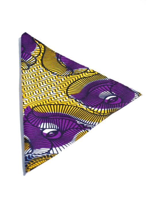 Purple & Gold Ankara Print